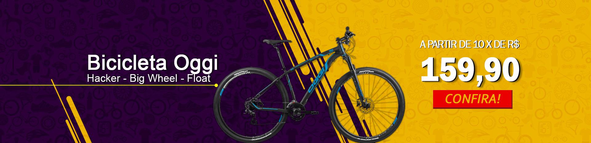 Bicicleta Oggi a partir de 10x R$ 159,90