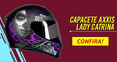 capacete lady catrina confira!