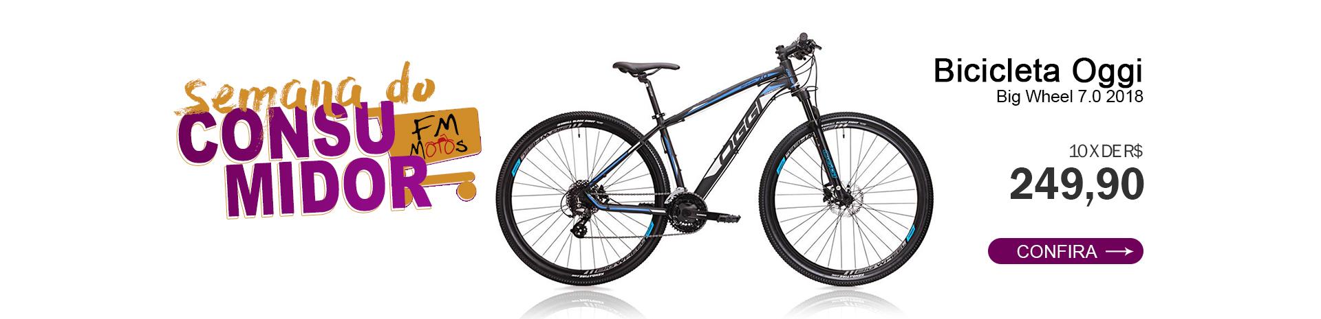 Semana do Consumidor - Bicicleta MTB OGGI BIG Wheel 7.0