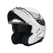 Capacete MT Optimus SV Mono Branco