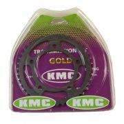 Kit Relação Hornet 600 97-07 42X15 - 525HOR120 com Retentor (KMC GOLD)