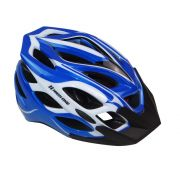 Capacete Ciclismo MTB INM 27A-1 AZL/BCO/PTO HIGH ONE