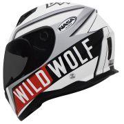 Capacete Nasa SH 881 WILD WOLF