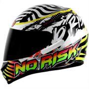 Capacete Norisk FF391 ACID Branco