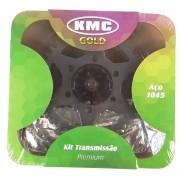 Kit Relação Yamaha Crosser 150 41X14 - 428HX122 (KMC GOLD)