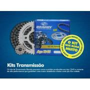 Kit Relação Dafra NEXT 250 35X13 - 520HO106 com Retentor Dourada (BRANDY)