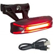 Vista LIGHT Traseiro JY-6018T LED Vermelho com Recarga USB
