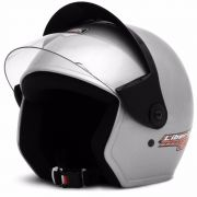 Capacete Liberty Three Prata