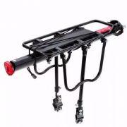 Bagageiro Bicicleta Preto com Regulagem SUP para Alforge (yamada)