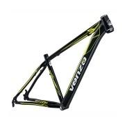 Quadro Bicicleta MTB 29 Venzo Falcon ALUM PRETO/AMARELO