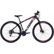 Bicicleta MTB OGGI BIG Wheel 7.0 29 2018 24V PRETO/ROSA