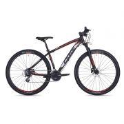 Bicicleta MTB OGGI BIG Wheel 7.0 29 2018 24V PRETO/VERMELHO/BRANCO