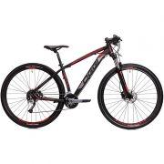 Bicicleta MTB OGGI BIG Wheel 7.1 29 2018 27V PRETO/VERMELHO/GRAFITE