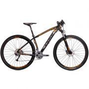 Bicicleta MTB OGGI BIG Wheel 7.2 29 2018 27V PRETO/LARANJA/GRAFITE