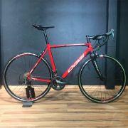 Bicicleta Speed OGGI Stimolla 2018 20V VERMELHO/PRETO/BRANCO