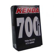 Camara AR Bicicleta 700 X 18/23 Válvula Presta Bico Fino 48MM (kenda)