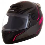 Capacete Evolution 788 G6 Factory Edition CINZA/ROSA