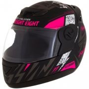 Capacete Evolution 788 G6 Factory Racing Rosa