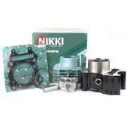 Kit Cilindro Motor + Pistão + ANEL NEXT 250 Dafra (nikki GOLD)