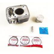 Kit Cilindro Motor + Pistão + ANEL Honda Titan 150 Todos os ANOS / BROS 06 em Diante (SCUD)