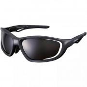 óculos Ciclismo Shimano CE-S60X-PL Preto Fosco com Lente Polarizada Fumê