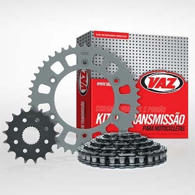 Kit Relação Honda XLX 350 14X38 - 520HOX98 C/ RET (VAZ)