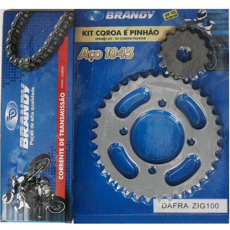 Kit Relação Dafra ZIG 100 37X15 - 428H98 (BRANDY)