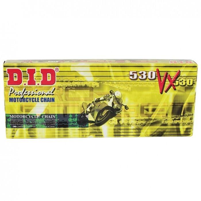 Corrente de Transmissão 530V - 118 GSX 750F 89-97 com Retentor (DID)