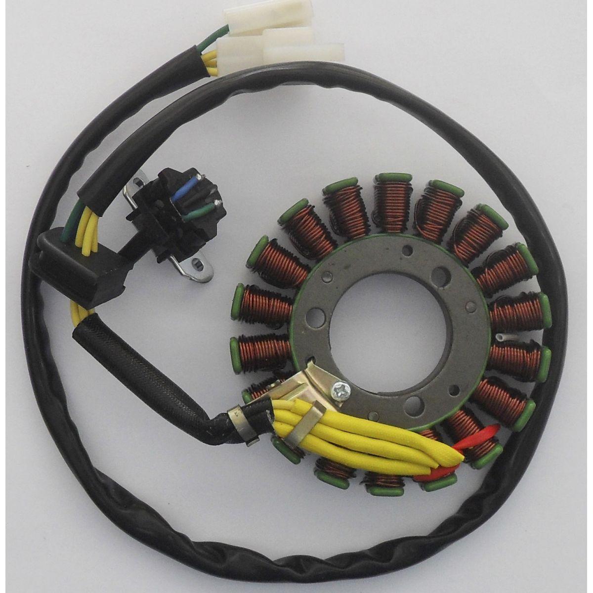 Estator Suzuki YES 125 / Intruder 125 / Sundown STX 200 (magnetron)