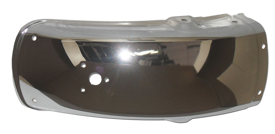 Paralama Traseiro Intruder 125 Suzuki Cromado (sportive)