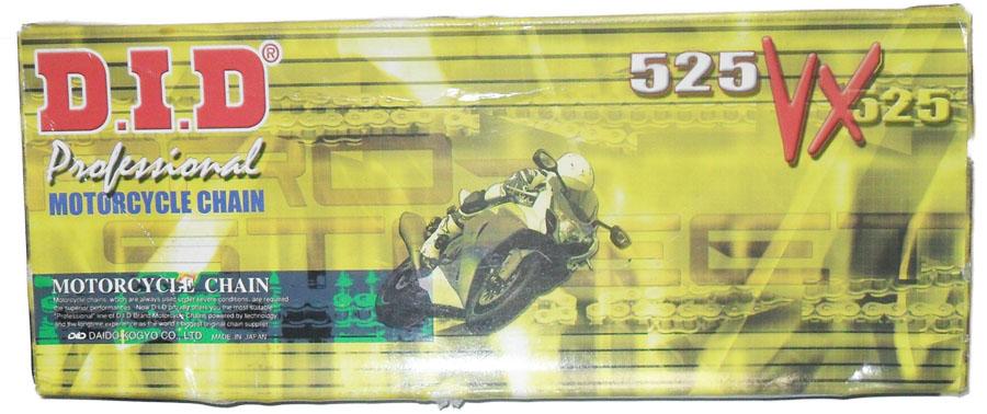 Corrente de Transmissão 525VX - 108 CB 500 C/ RET (DID)