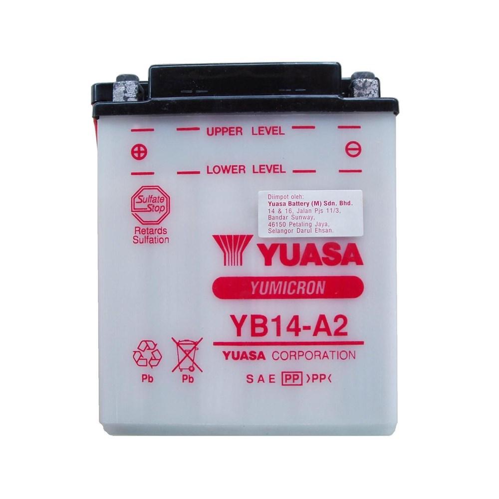 Bateria CBX750 YB14-A2 (yuasa)