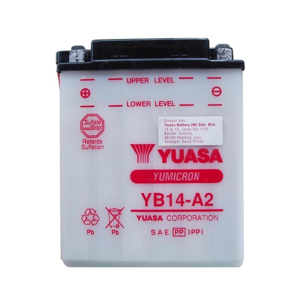 Bateria CBX 750 YB14-A2 (yuasa)