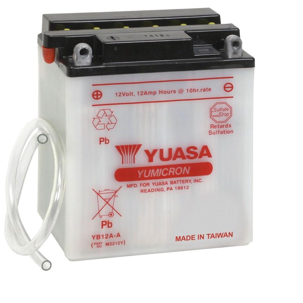 Bateria CB 400 / CB 450 / CBR 450 YB12A-A (yuasa)