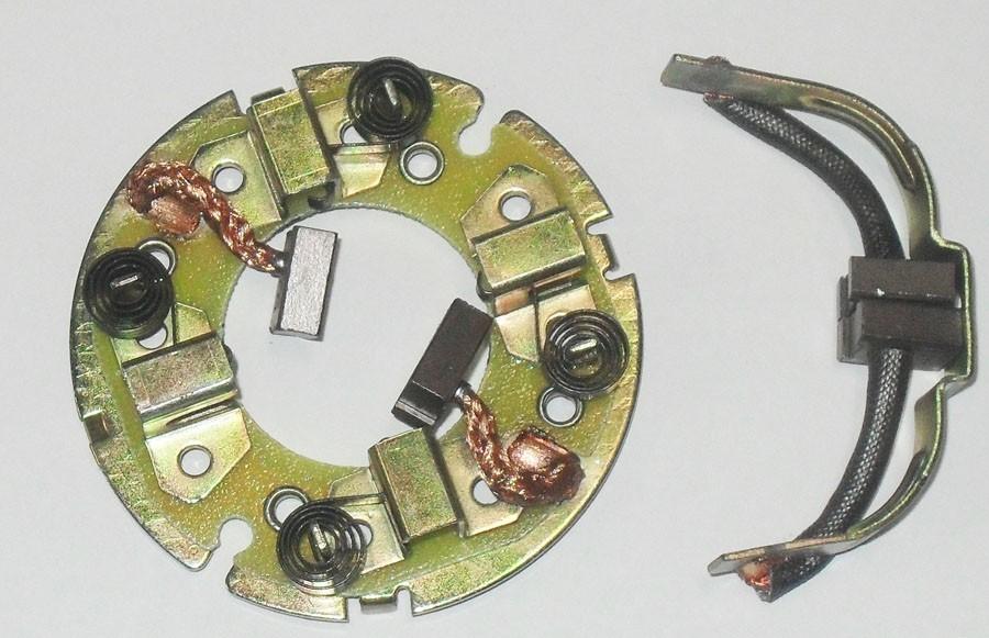 Escova com Suporte CBX 750 C/ MOLAS/ Speed Dafra (magnetron)