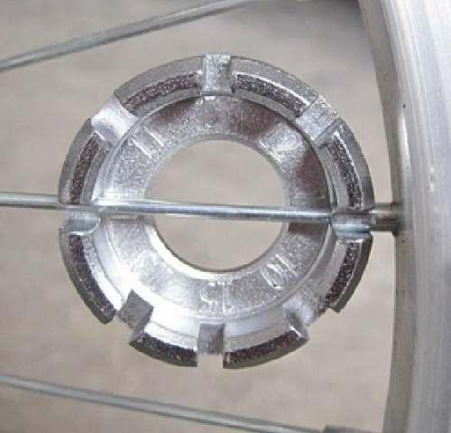 Chave de Raio de Bicicleta Universal Cromado KL-9726A