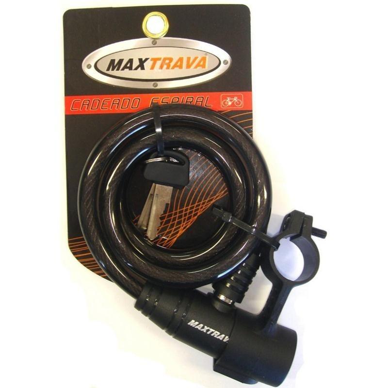 Trava Espiral 12X1M com Suporte Fume (maxtrava MXTRA0004)