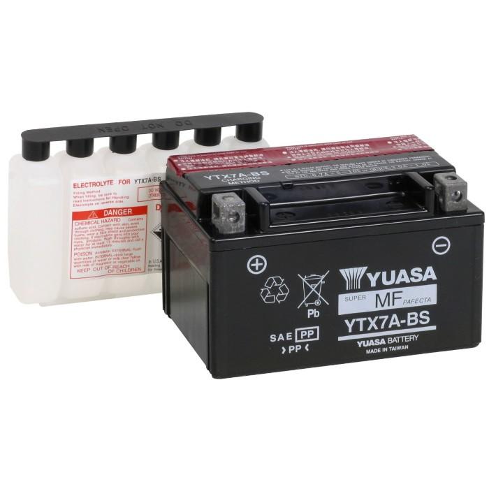 Bateria Burgman 125 / Future / Mirage 150 / CRZ 150 YTX7A-BS Yuasa
