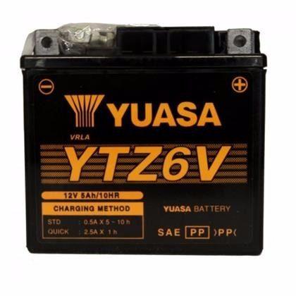 Bateria Titan ESD150 MIX 2009 XRE300 / Fazer 150 YTZ6V (yuasa)