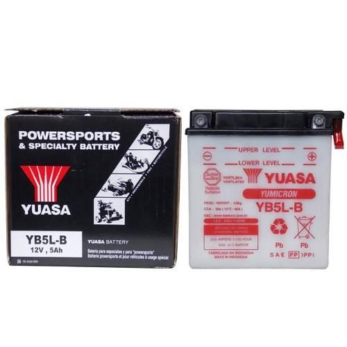 Bateria XTZ 125 / CRYPTON YB5L-B XTZ (yuasa)