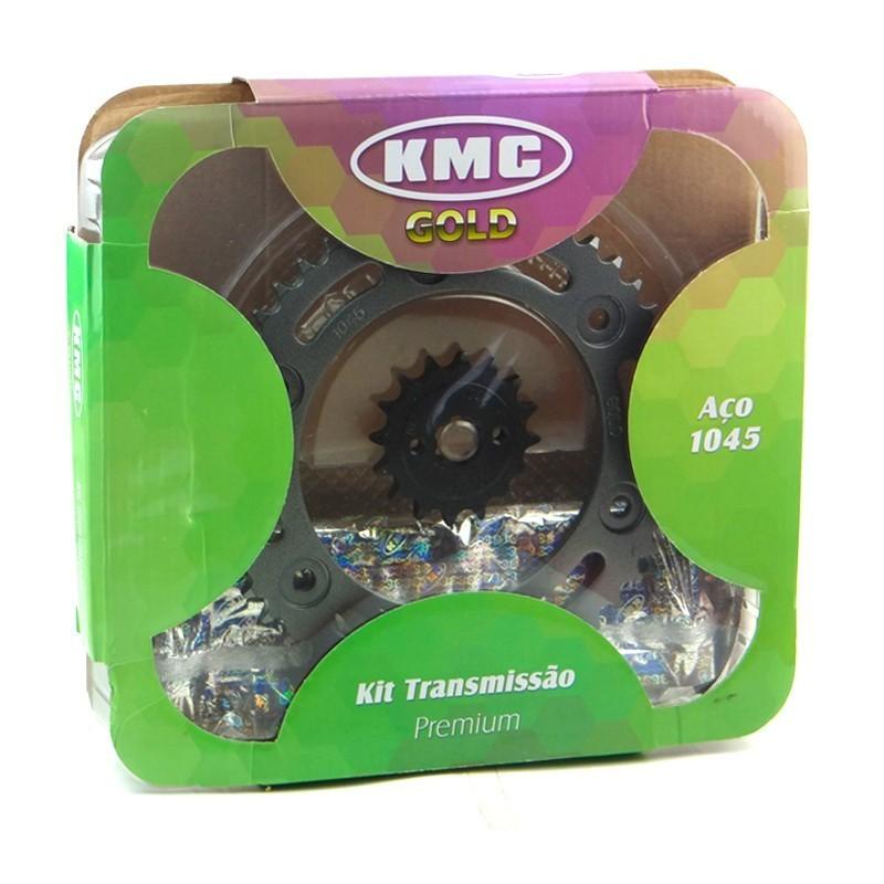 Kit Relação Honda NXR BROS 160 / XRE 190 16X48 - 428HX130 (KMC GOLD)