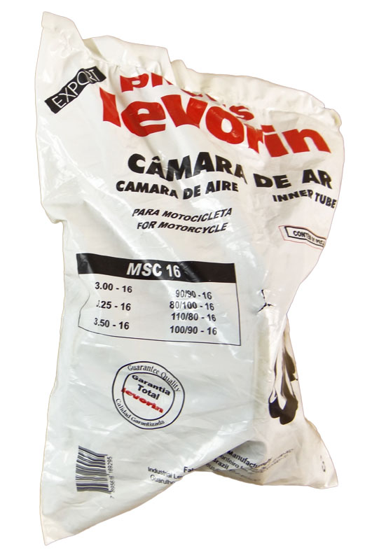 Camara AR Levorin MSC 16 3.00-16 / 3.25-16 / 3.50-16 / 90/90-16 / 80/100-16 / 110/80-16 / 100/90-16