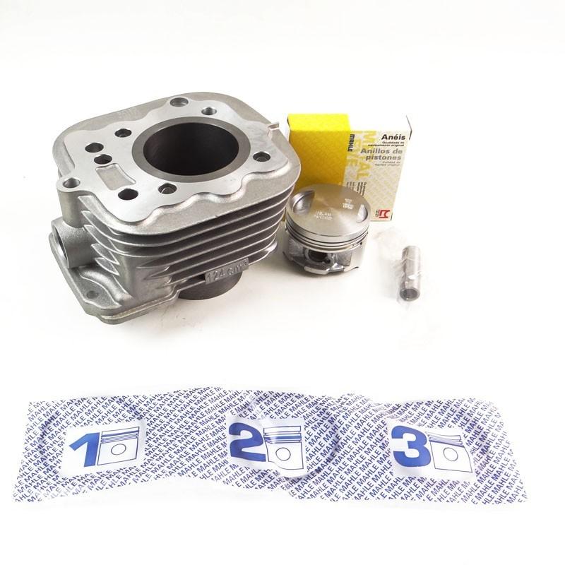 Kit Cilindro Motor + Pistão + ANEL Honda Titan 02 / FAN 125 ATE 08 (metal Leve WMK9170)