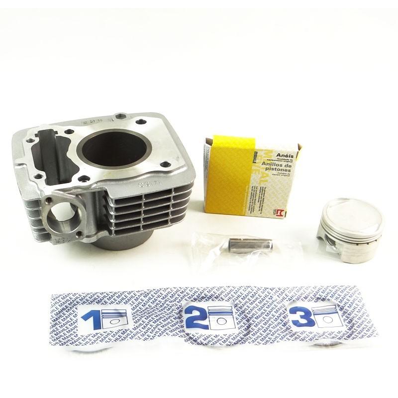 Kit Cilindro Motor + Pistão + ANEL Honda Titan 150 Todos os ANOS / BROS 06 em Diante (metal Leve MEK9171)