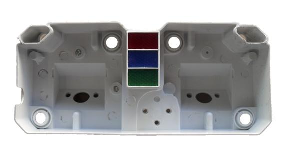 Carcaça Interna Painel Branca CB 400 / CB 450 (para Motos)