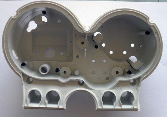 Carcaça Interna do Painel Branca Honda CB 500