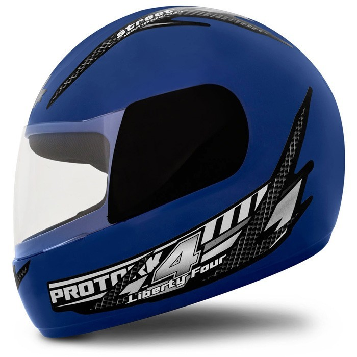 Capacete Liberty Four AZUL