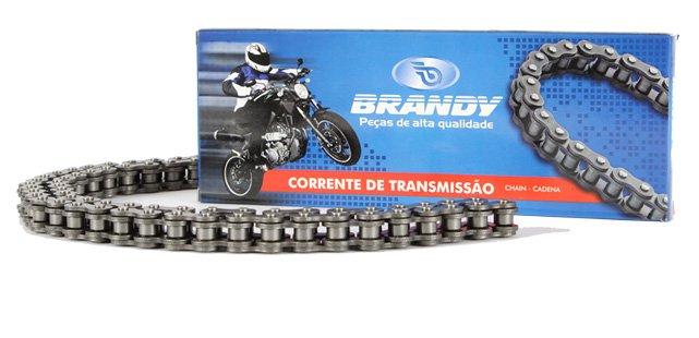 Corrente TRANS 428H - 118 Titan 150/RD/RDZ/YBR/RIVA (BRANDY)