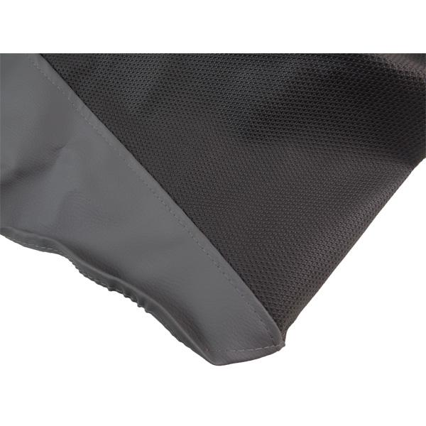 Capa de Banco Dafra Lazer 150 Preta e Cinza