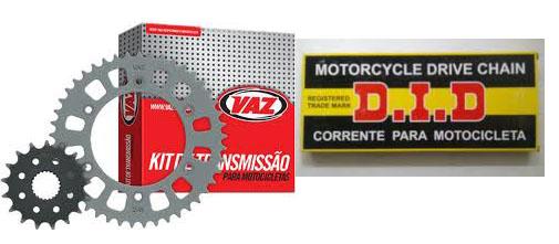 Kit Relação MT 03 660 47X15 - 520VP2T-T112 C/ RET (coroa e Pinhão VAZ + CORR DID)